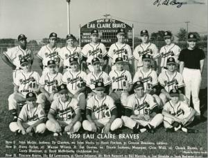 1959 Eau Claire Braves